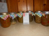 Variety of Pickles & Relish